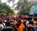 Students' protest against ICAI enters third day