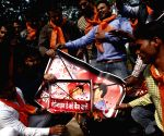 Hindu Sena demonstration