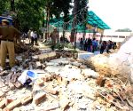 Kendriya Vidyalaya wall collapses