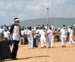 Coast Guard undertakes beach clean-up along coastline