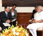 Japanese Minister calls on Modi