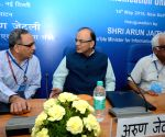 "Arun Jaitley at the inaugural session on ""Establishment of Communication University"""