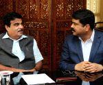 Dharmendra Pradhan calls on Nitin Gadkari