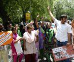 Youth Congress demonstration against Punjab's Moga molestation case