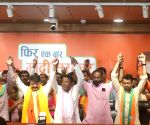 3 MLAs, 50 councillors from Bengal join BJP