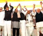 Threat to democracy, nation under Modi: Chandrababu Naidu