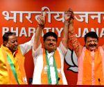 Trinamool's Arjun Singh joins BJP