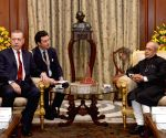 Turkish President meets President Mukherjee