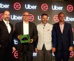 Uber Bus not too far from Delhi roads