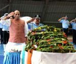 Rajnath salutes IAF personnel, meets families