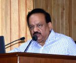 Harsh Vardhan visits Bhajanpura crash site
