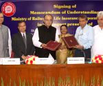 Indian Railways and LIC sign MoU