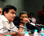 Nitin Gadkari at the Inland Waterways conference