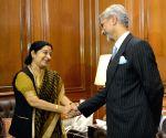 S. Jaishankar took charge as new foreign secretary