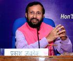 Prakash Javadekar launches free News SMS service of  AIR
