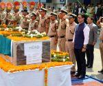 New Delhi : Kiren Rijiju pays tribute martyr Prem Sagar