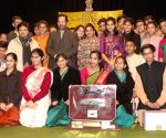 Mukhtar Abbas Naqvi at '49th Youth Parliament Competition, 2014-15' award function
