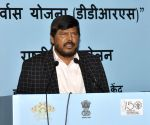 Athawale senses a 'kill' in BJP-Sena tussle for Mumbai seat