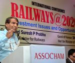 Railways Minister addresses at 'Railways@2020 - Investment Issues and Opportunities'