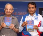 Suresh Prabhu launches D V Kapur's book 'The Bloom In The Desert: The Making of NTPC'