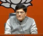 Goyal lashes out at Mamata for creating hurdles for BJP in Bengal