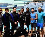 Kiren Rijiju, Bhaichung Bhutia dives for 'OP-Blue Freedom'