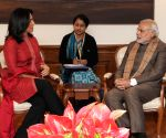 Tulsi Gabbard calls on PM Modi