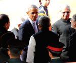 US President at Rashtrapati Bhawan