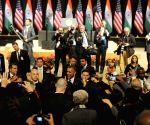 US President Barack Obama at Siri Fort Auditorium