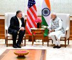 US Secretary Mike Pompeo meets PM Modi