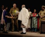 Soumitra Chatterjee performs during NSD Fest