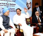 Nariman one of the best eminent jurists in India: Venkaiah Naidu