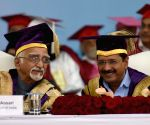 Vice-President, Delhi CM during the Convocation of Guru Gobind Singh Indraprastha University