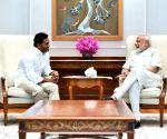 Jaganmohan Reddy meets Modi