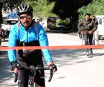 Army soldier creates new Guinness record for fastest solo cycling