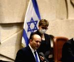 New Israeli PM warns Hamas against 'any more violence'