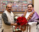 New Karnataka CM Bommai meets PM, Nadda