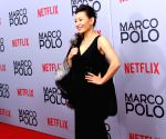 New York (United States): premiere of the new Netflix series 'Marco Polo'