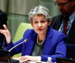 UN GENERAL ASSEMBLY SECRETARY GENERAL CANDIDATE IRINA BOKOVA