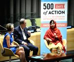New Yorks: 500 days of action for the Millennium Development Goals (MDGs)