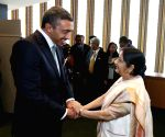 New York: EAM Sushma Swaraj meeting UAE Foreign Affairs Minister Sheikh Abdullah bin Zayed bin Sultan Al Nahyan