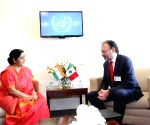 New York: UNGA - Sushma Swaraj meets Luis Videgaray Caso