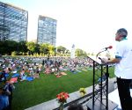 New York: International Yoga Day