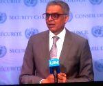 New York: UNSC - Syed Akbaruddin