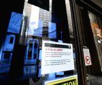 U.S. NEW YORK GOVERNMENT SHUTDOWN