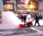 US NEW YORK WEATHER BLIZZARD