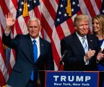 U.S. NEW YORK TRUMP PENCE PRESIDENTIAL CAMPAIGN