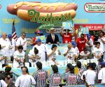 U.S.-NEW YORK-HOT DOG EATING CONTEST