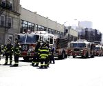 U.S. NEW YORK SUBWAY DERAILMENT