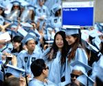 U.S.-NEW YORK-COLUMBIA UNIVERSITY-COMMENCEMENT CEREMONY